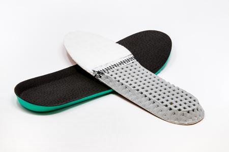 Plantare per scarpa antinfortunistica con cucitura antistatica