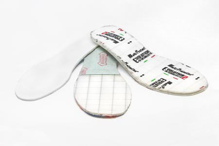 Sottopiede in polipropilene + sottopiede antiperforazione per scarpe antinfortunistica